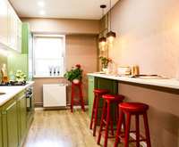 Imagine sfat: Bucătăria rămâne, pentru români, un punct central al casei.