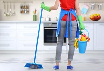 Imagine sfat: Ușurează-ți munca, facilitând curățenia