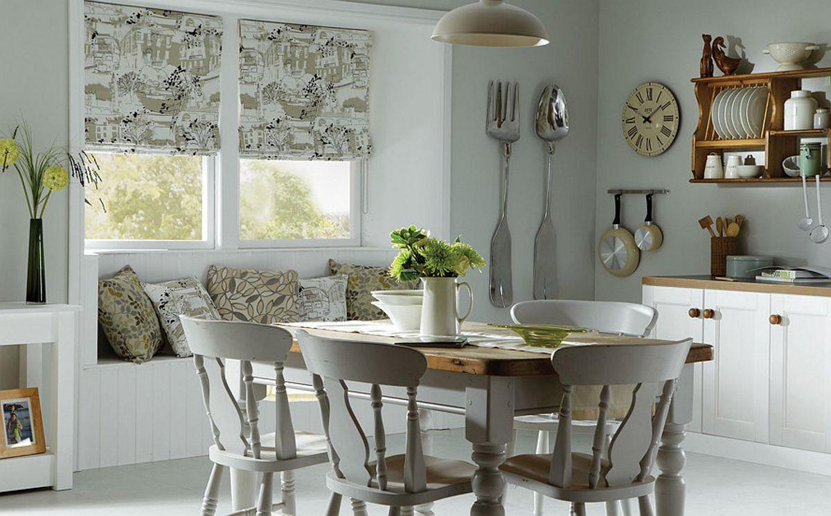 În bucătărie, dacă se dorește ca ambientul să fie mai decorativ