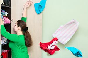 Imagine sfat: Reorganizează-ți lucrurile din fiecare cameră!