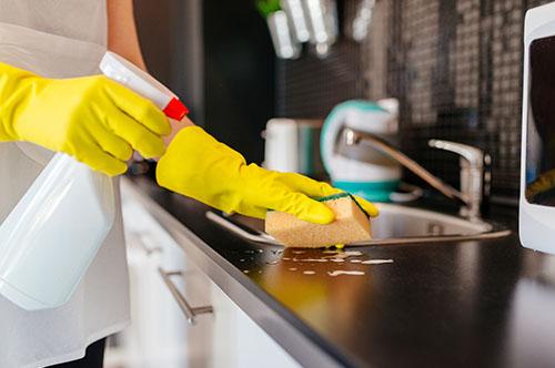 Dezinfectarea și igienizarea bucătăriei