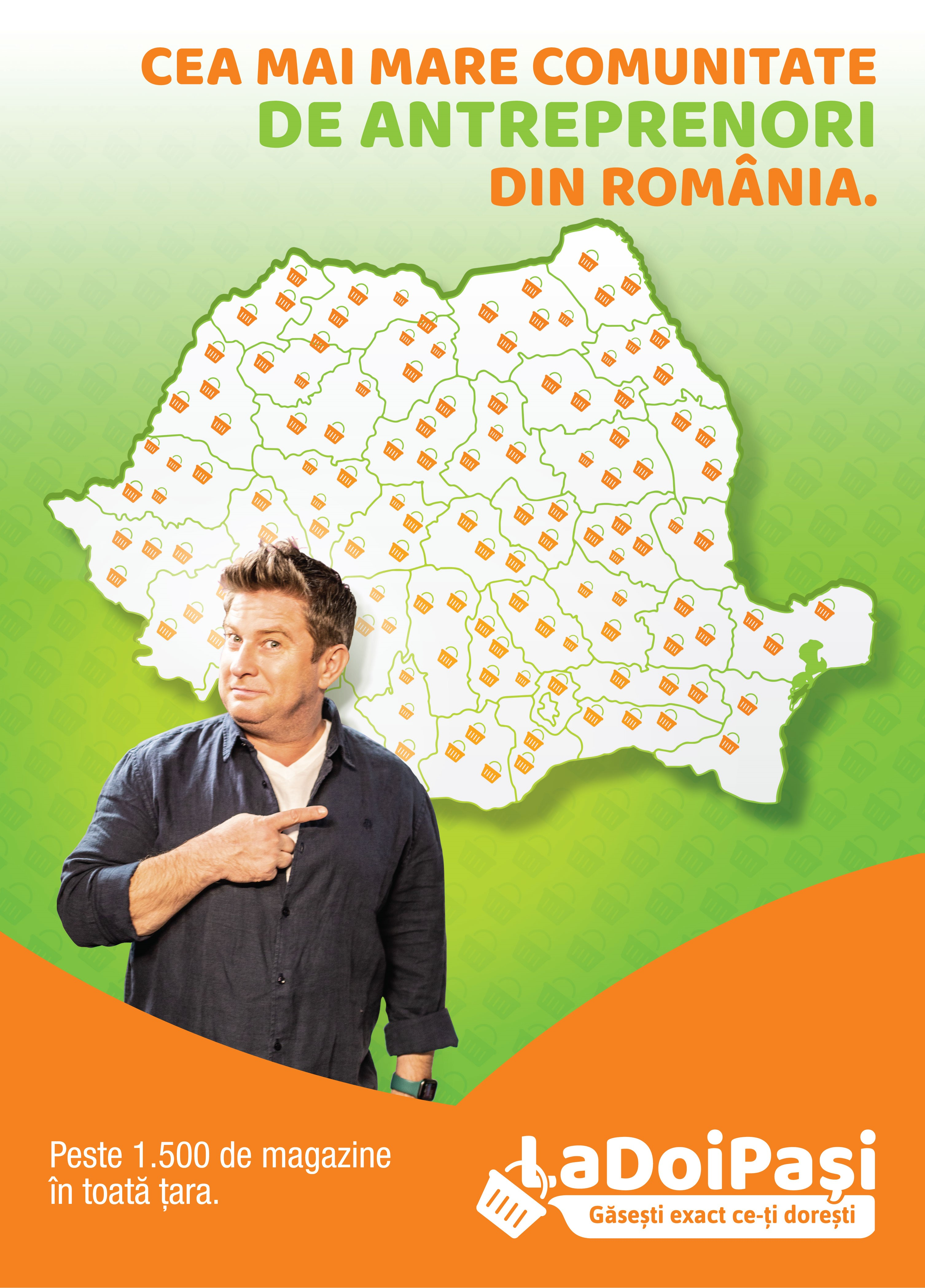 Imagine stire: LaDoiPași a depășit 1500 de magazine �..